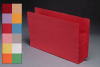 Color Full End Tab Expansion Pockets, Paper Gussets, Legal Size, 5-1/4&#34 Expansion (Carton of 100)