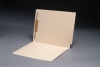11 pt Manila Folders, Full Cut 2-Ply End Tab, Letter Size, Fastener Pos #1 (Box of 50)