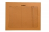 "32lb Brown Kraft Negative Preserver, Open Top, Standard Imprint, 14-1/2"" x 17-1/2"" (Carton of 250)"