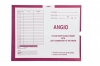 Angio, Magenta #233 - Category Insert Jackets, System I, Open End - 14-1/4&#34 x 17-1/2&#34 (Carton of 250)