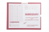 Mammography, Pink #190 - Category Insert Jackets, System II, Open End - 14-1/4&#34 x 17-1/2&#34 (Carton of 250)