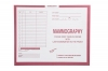Mammography, Pink #190 - Category Insert Jackets, System II, Open Top - 14-1/4&#34 x 17-1/2&#34 (Carton of 250)