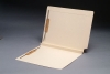 "14 pt Manila Folders, Full Cut 2-Ply End/Top Interlock Tab, Letter Size, Fastener Pos #1 & #3, 1-1/2"" Expansion (Box of 50)"