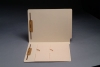 11 pt Manila Folders, Full Cut End Tab, Letter Size, Double Pockets Inside Front, Fasteners Pos #1 & #3 (Box of 50)