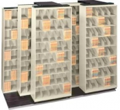 Lateral Mobile Shelving