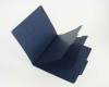 15 Pt. Indigo Classification Folders, 2/5 Cut ROC Top Tab, Letter Size, 2 Dividers (Box of 15)