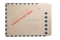 "X-Ray Film Mailers, 11 pt Manila, 15"" x 18"", Green Diamond Border, MRI Imprint, Peel and Seal (Carton of 50)"