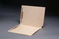 14 pt Manila Folders, Full Cut 2-Ply End Tab, Letter Size, Fastener Pos #1 & #3 (Box of 50)