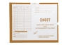 "Chest, Briar #131 - Category Insert Jackets, System II, Open End - 14-1/4"" x 17-1/2"" (Carton of 250)"