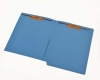 11 pt Color Folders, Full Cut End Tab, Letter Size, 1/2 Pocket Inside Front, Fastener Pos #1 & #3 (Box of 50)