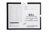 "M.R.I., Black - Category Insert Jackets, System II, Open End - 14-1/4"" x 17-1/2"" (Carton of 250)"