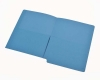 11 pt Color Folders, Full Cut End Tab, Letter Size, Dual 1/2 Pockets Inside Front and Back (Box of 50)