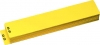 "Numbered Shelf Guides 0-99, Yellow Vinyl, 4"" x 21"" (Set of 100)"